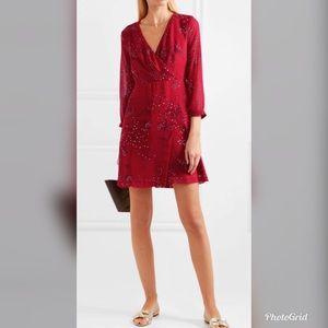 NWT Madewell Floral Crepe De Chine Mini Dress M39